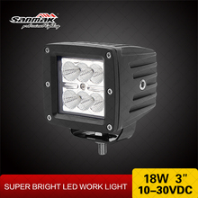 LED 18W 3315LM Car Jeep Flood Lamp 12V Auto LED Work Light