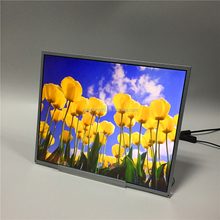 19 inch panel resolution 1280*1024, M190EG02 V9 size 19 inch model LCD display with Touch Screen Glass Sensor Panel
