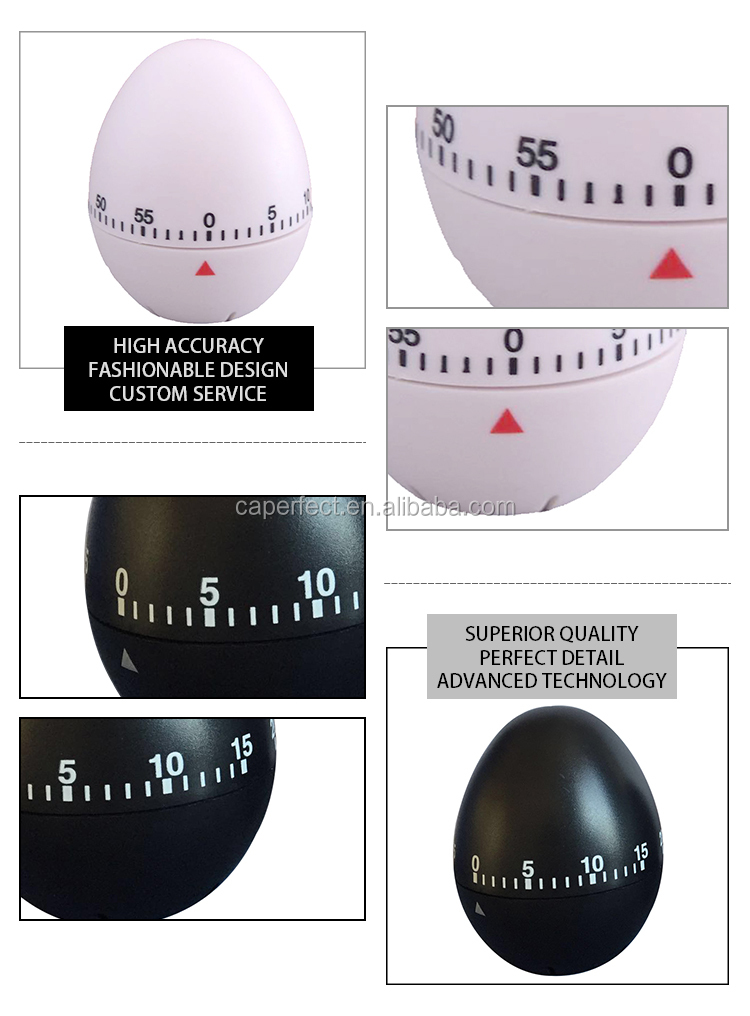 Kitchen timer mechanism cheap price china manufacture egg boil timer kitchen timer egg shape