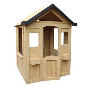 Wooden Marketing Booth Kids Playhouse