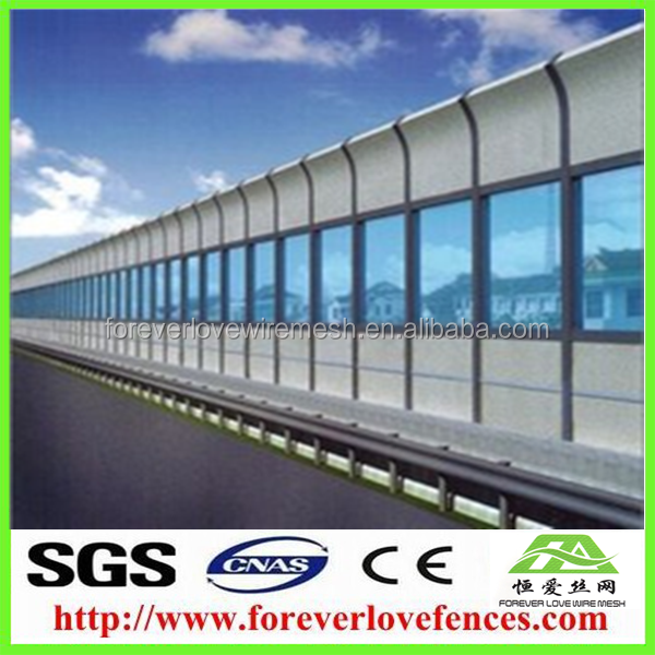foreverlove Saudi Arabia market noise protection wall/noise barrier /barriers