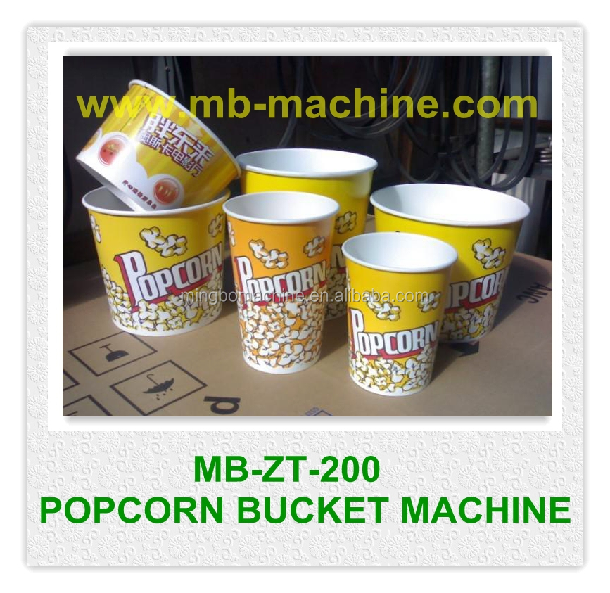 (MB-ZT-200)automatic popcorn tub making machine