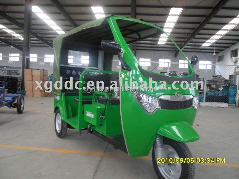 Auto rickshaw, E passenger tricycle
