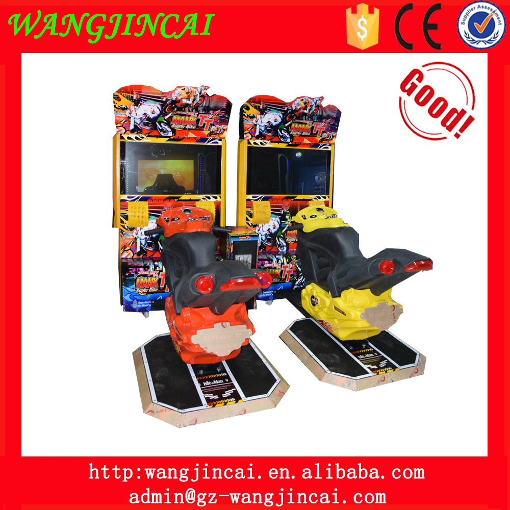 coin operated motorcycles driving race arcade game machine super bike MANX TT simulator amusement game machine