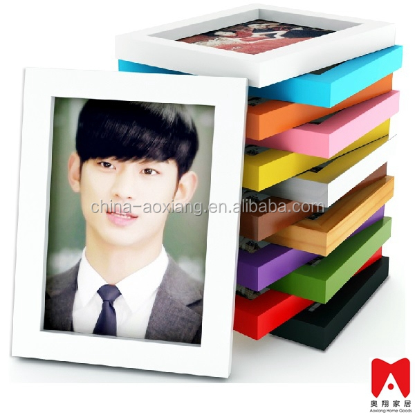 Colourful Plastic Picture Frame 4x6 5x7 6x8 8x10 bright color photo frames