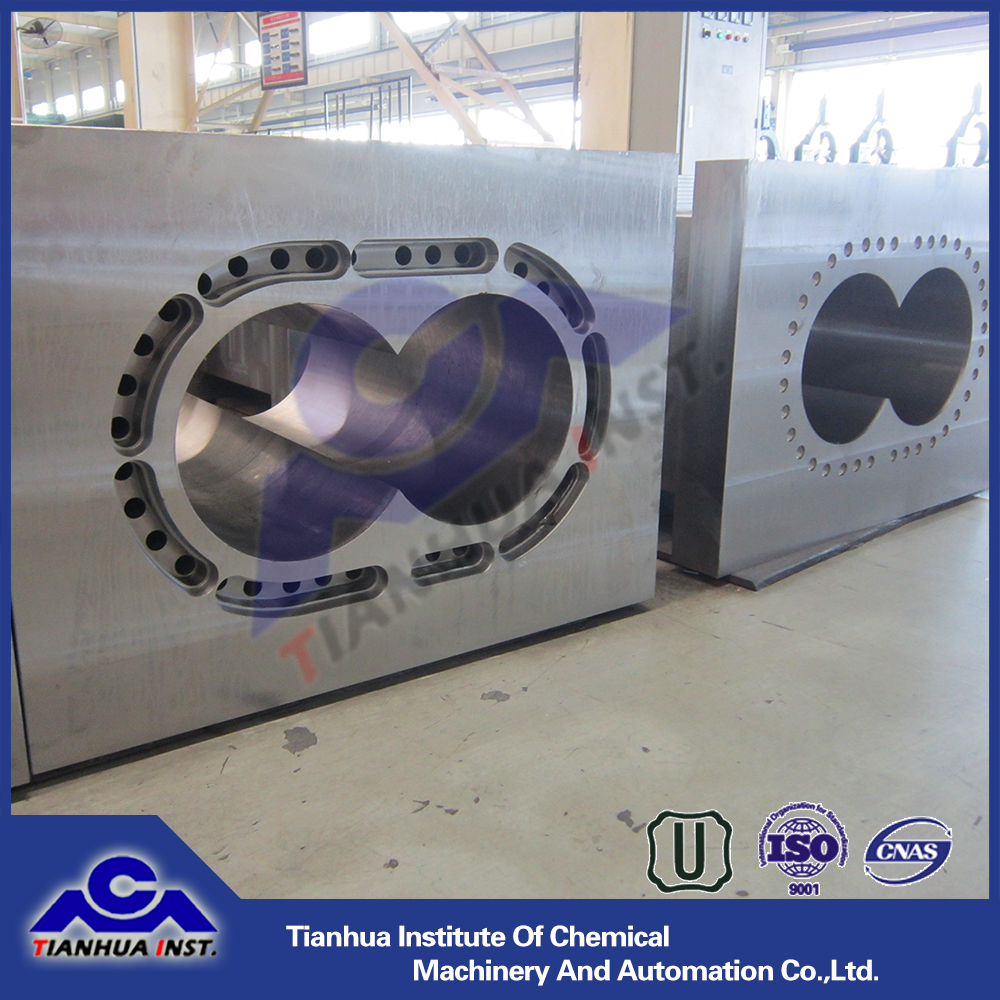 Lantai high quality twin screw extruder barrel for plastic industry
