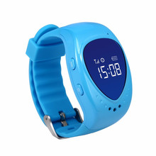 SIM SOS Anti-Lost Children Smart Watch,Kid Safe Wristwatch GSM GPS Finder Locator Watch Tracker For iOS Android