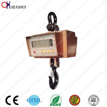 High strength aluminum die casting 500kg 1000kg mechanical weighing hanging scale