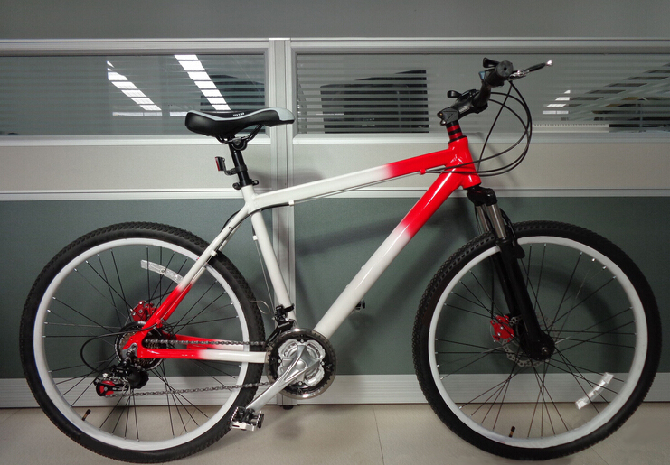 China specialize 26inch mountain bike used bicycle for women with color frame