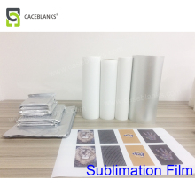 top quality a4 size pet translucent type 3d sublimation film