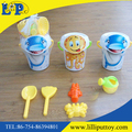 Popular plastic beach toy sea aniaml bucket