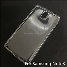 Soft TPU Silicon Transparent Clear Case for Samsung note3/N9000