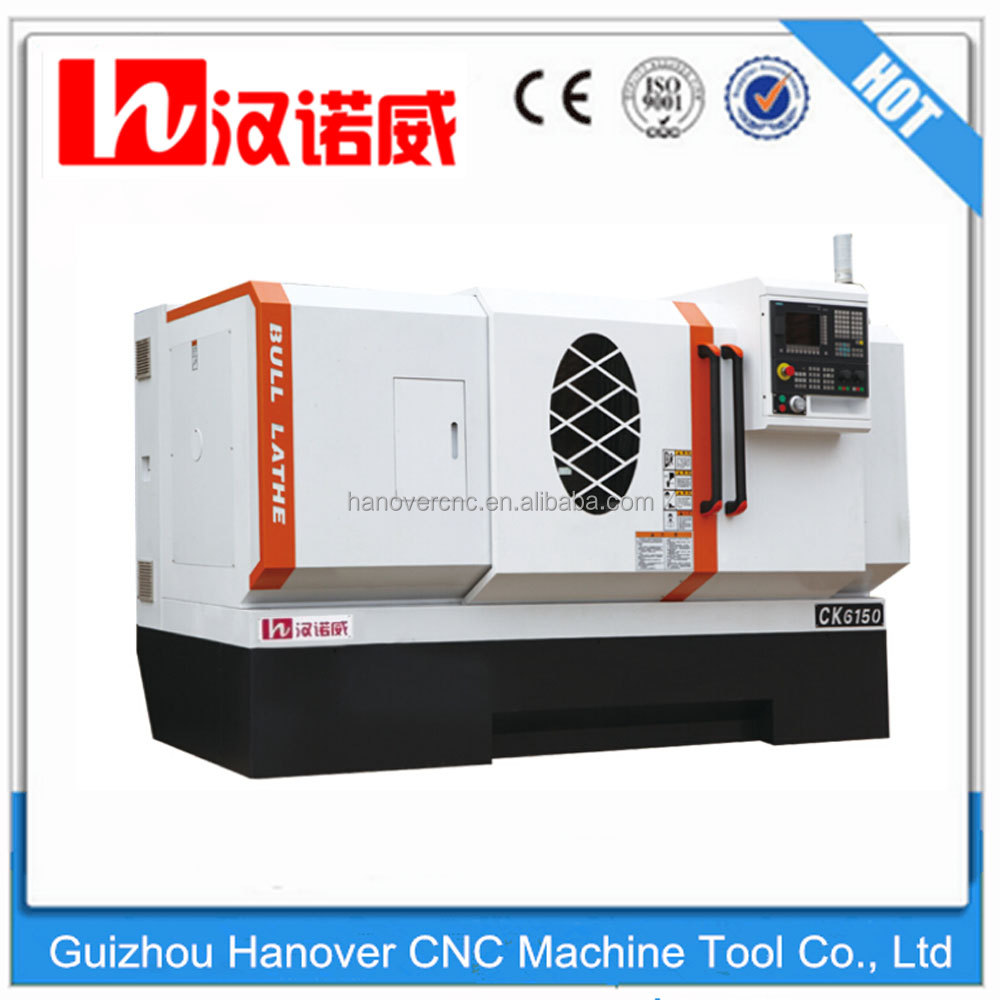 CK6150 high quality hydraulic chuck lathe and tailstock for CNC turning