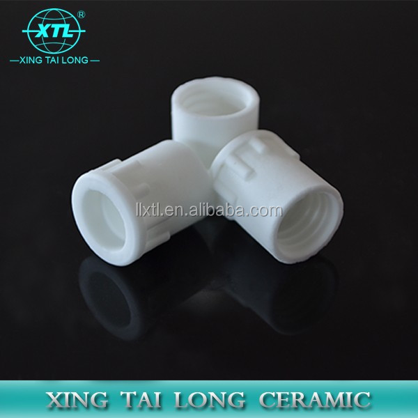 Metallized Ceramic Tube Ring Tile Substrate Parts