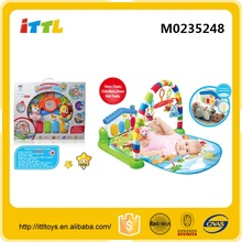 Most popular baby play gyms and mats baby activity play gym mat toys piano playmat