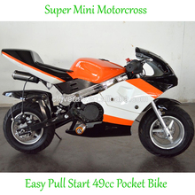 Factory Price Super 49cc Pocket Bike with Electric Start