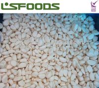 frozen garlic peeled cloves IQF many specifications