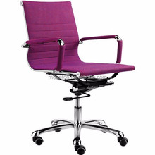 Stylish Height Adjustable office Chair in Purple for young(F15-A01)