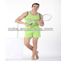 2013 New Design sexy men tank tops sports men's t shirts sunny boy short clothes popular color cheap no free shipping