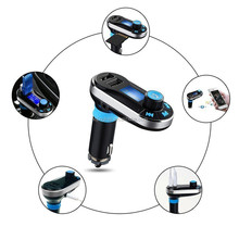 AUGIN Wireless FM Transmitter MP3 Player Car Kit Dual USB Charger Bluetooth Car