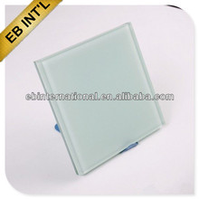 Milky White Color Laminated Glass for wall and window