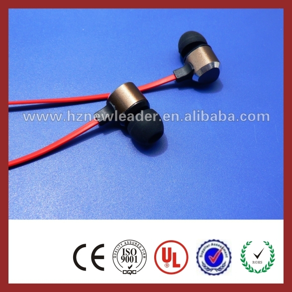 headphones shoe lace high quality in ear flat cable earphones with a triangle logo earphones