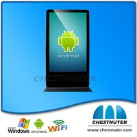 Hot selling 42 inch wifi/3G android usb player/android usb drive vedio (cchestunter digital signage)