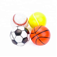 Mini Soft PU Sports Balls Stress Noverty Toy Balls