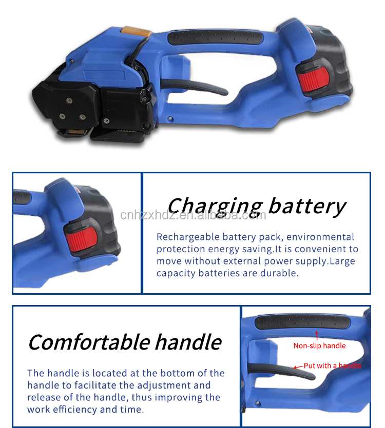 ORT-200 Battery Powered PP/PET Strapping Tool