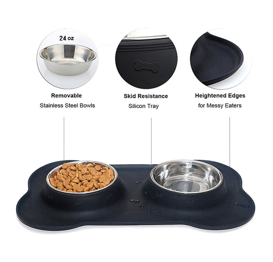 New brand 2017 dog bowls walmart price