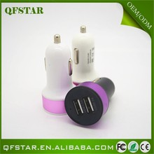 New Wholesale 5v 1.5a car charger adapter for smart phone