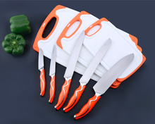 Factory Wholesale Food Safety High Quality 5 Piece Kitchen Knives Set Stainless Steel Knives Set