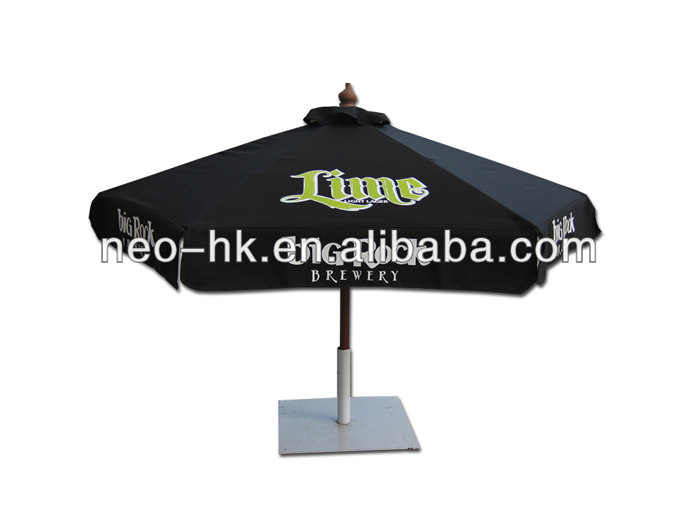 2014 promotional indian garden swimming pool motorcycle patio umbrella