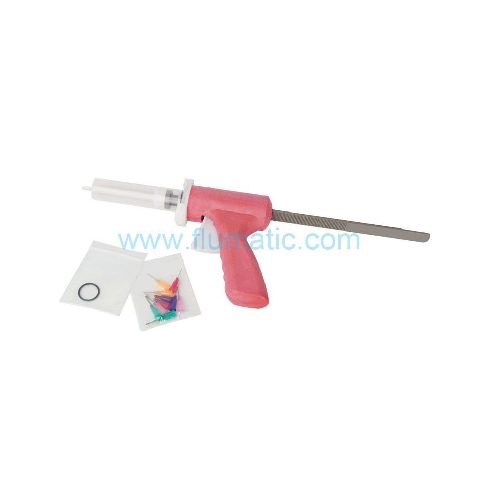 Manual Syringe Gun Dispenser dispensing gun