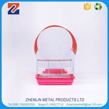 Portable cylindrical three room pet cat house cage