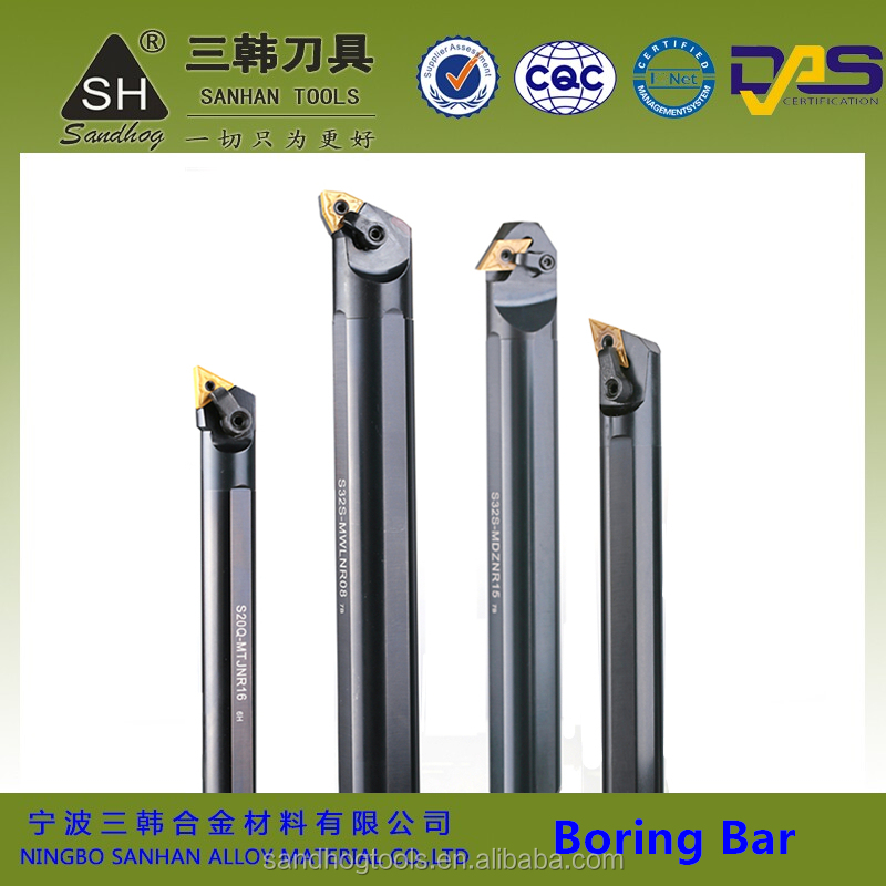 CNC carbide insert small boring bar, metal internal turning tools with carbide turning inserts