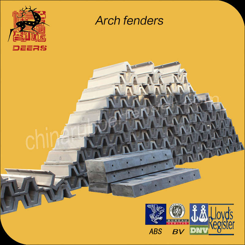 Good arch marine rubber fender for ship use