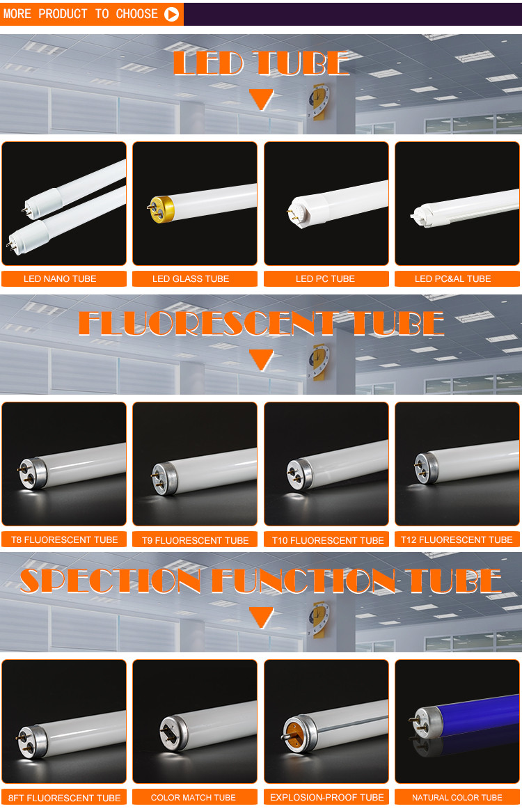 T10-40W t10 decorative fluorescent light fixtures