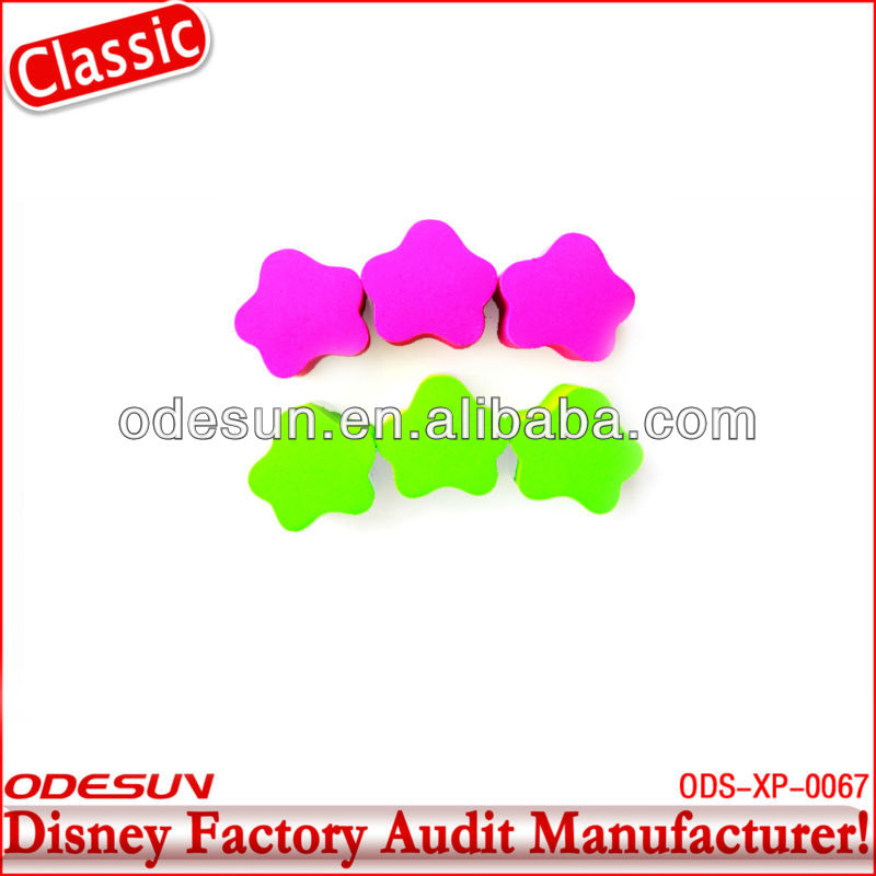 Disney factory audit manufacturer's flowers eraser 148196