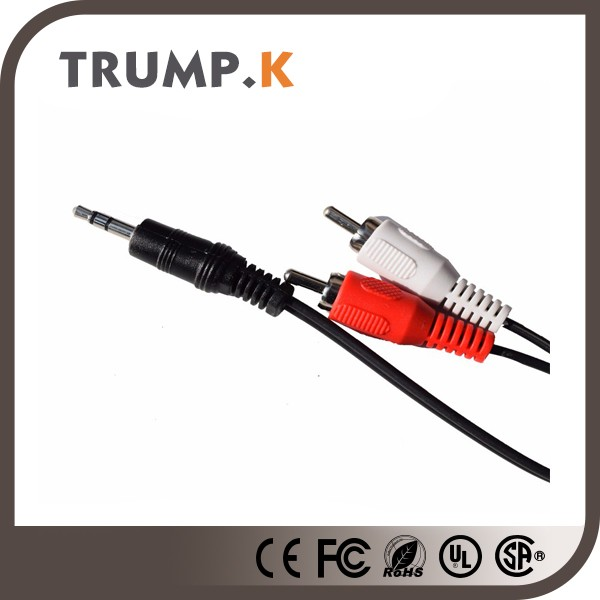High quality machine grade 3rca to cable China manufacturer