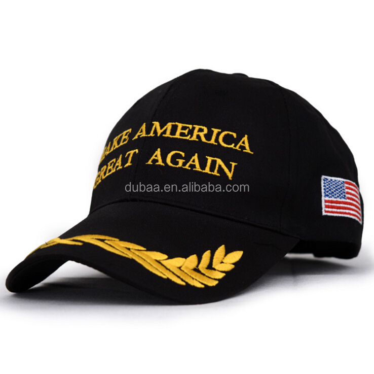 Embroidery Donald Trump Hat Make America Great Again 2016 Adjustable Mesh/ Cotton Daddy Dad Baseball Cap