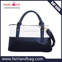 hot sale designer women fashion leather lady handbag manufacturer
