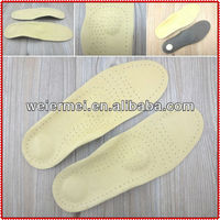Leather Arch Support Orthotics Insoles