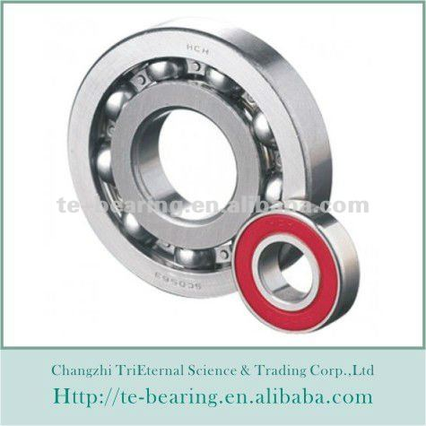 Industrial 6207 deep groove ball bearing made in China