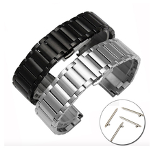 Hot Sale Good Quality Metal Watch Strap Quick Release Stainless Steel Watch Band