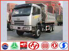 FAW dump truck supplier for new faw J5p 6*6 10 wheeler tipper truck sale