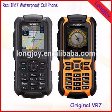 Rugged IP67 Waterproof Cellphone with GPS