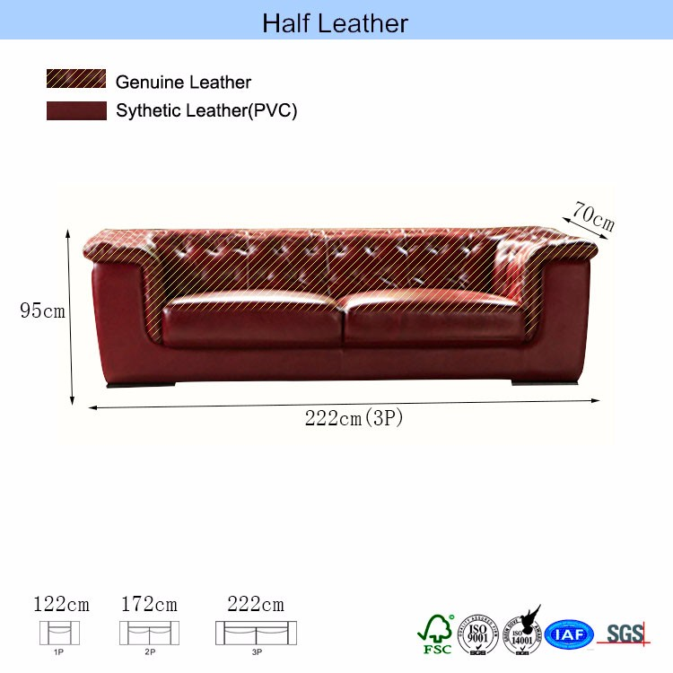 Webbing strap exclusive canvas sectional sofa