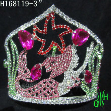 wholesale Newest design The little mermaid crown
