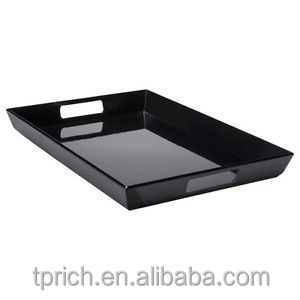 Top grade acrylic serving tray with factory price